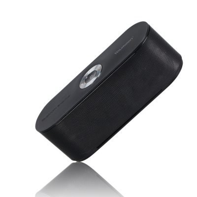 Black YM-HERO Portable Wireless Bluetooth Speakers 4.0 With Microphone 10W Output Power for Outdoor & Indoor