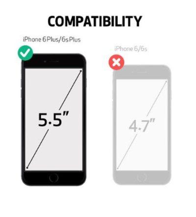 Black Otterbox Defender iPhone 6 plus case iPhone 6s plus case Rugged Protection Belt Clip